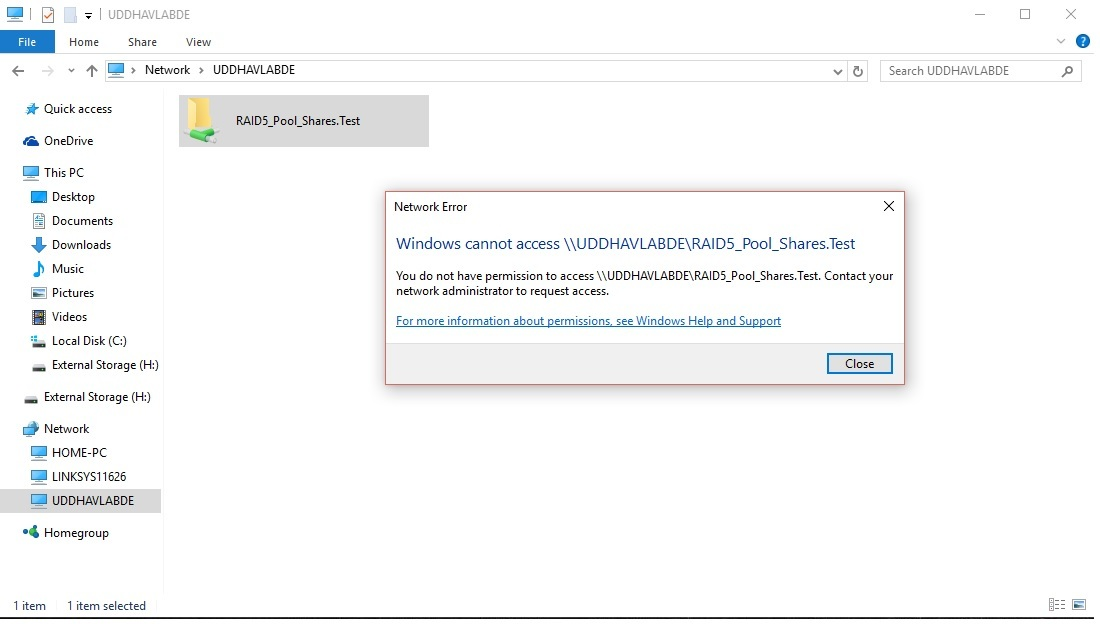 Windows cannot access share - Installation - Rockstor Community Forum