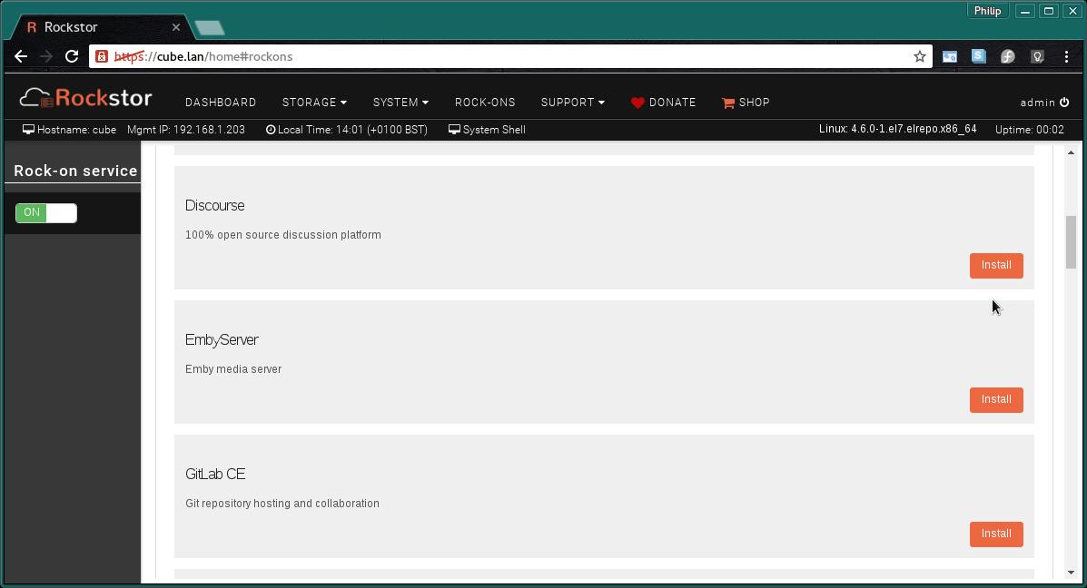 From OMV to Rockstor? - Installation - Rockstor Community Forum