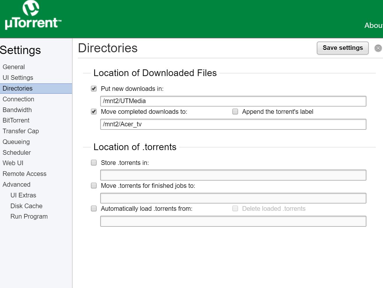 where are utorrent files stored