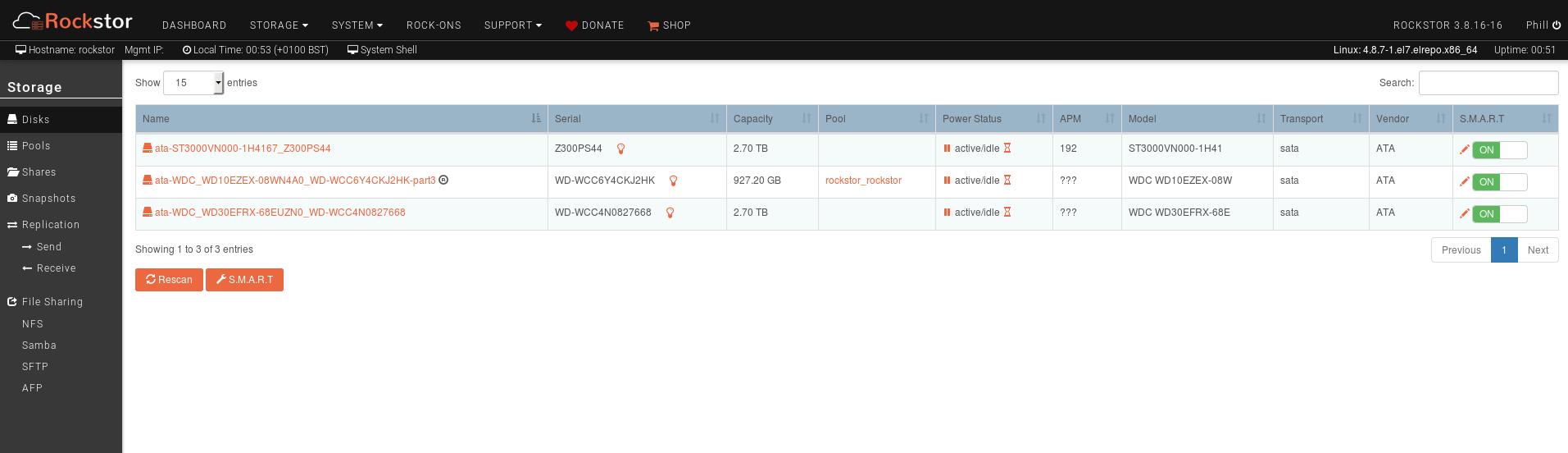 Import BTRFS from OMV - no option to import - Installation