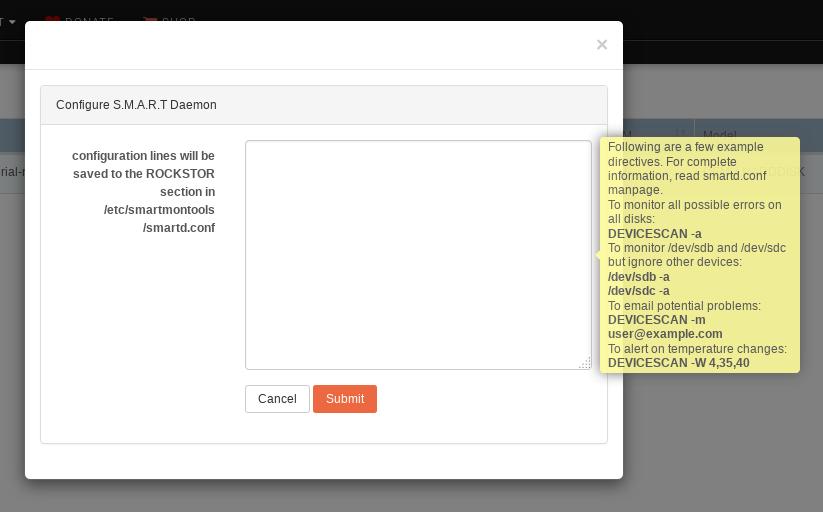 Config-SMART-Daemon-UI