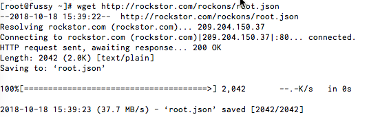 Error while processing remote metastore at http://rockstor